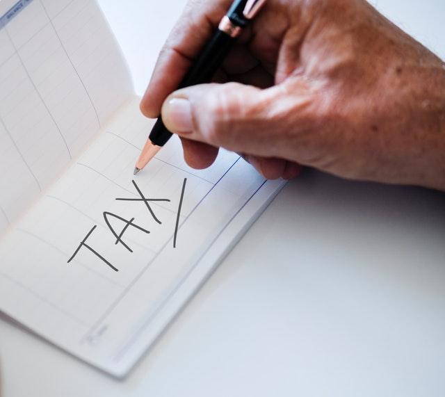 napis tax podatek